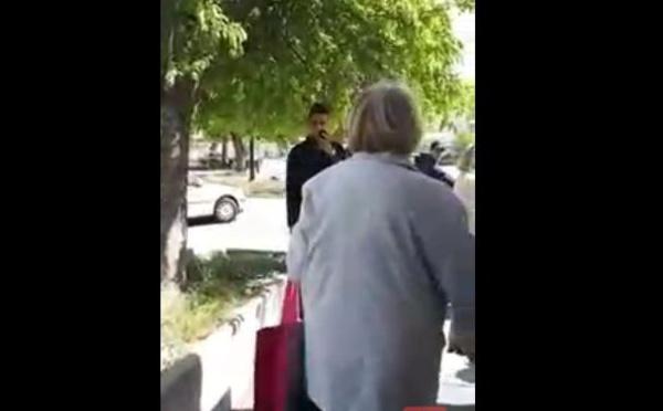 Cette dame prône le départ des Noirs si Marine Le Pen gagne les élections présidentielles ...Regardez!