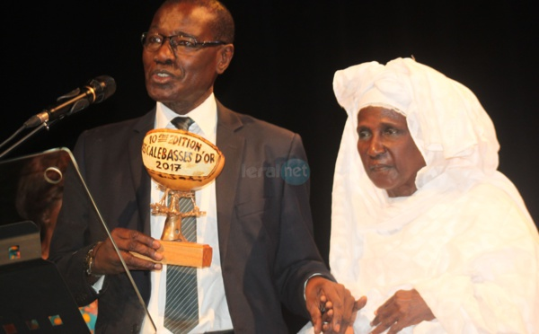 Le journaliste émérite, Sada Kane honnoré aux calebasses d'Or édition 2017