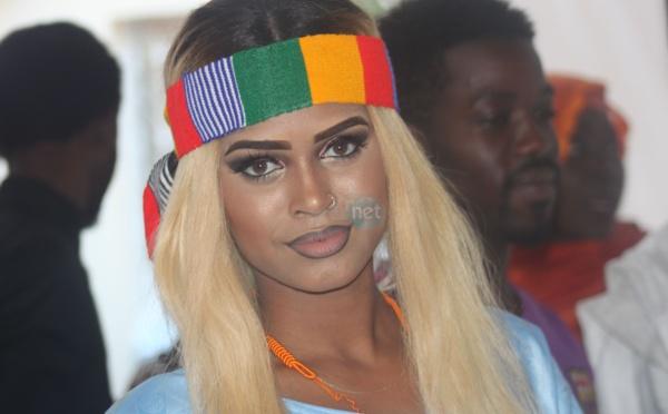 Marie Louise Diaw la top model s'habille à l'africaine  au mariage de Bijou