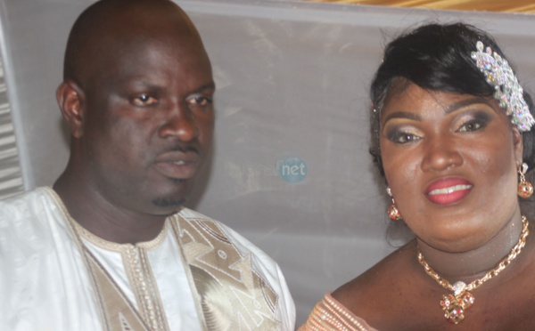 Le couple Bijou Ngoné et son chéri, heureux ménage