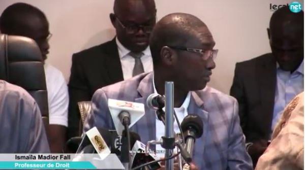 Décryptage : le Pr Ismaël Madior Fall dissèque l'évolution du régime politique au Sénégal