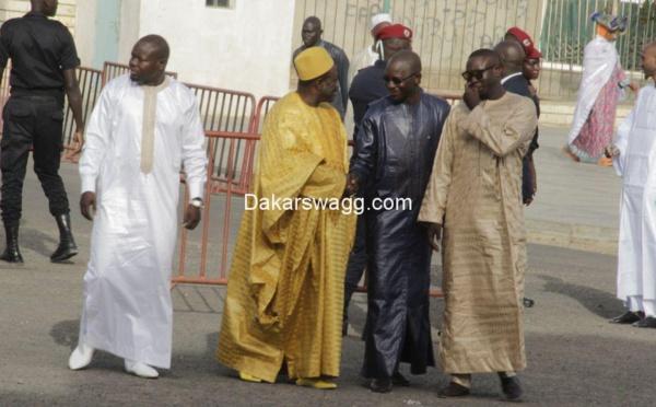 ( 17 Photos ) Les images de la prière de Korité à la Grande Mosquée