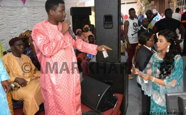 Les image du baptême de l'enfant de Mass Coki