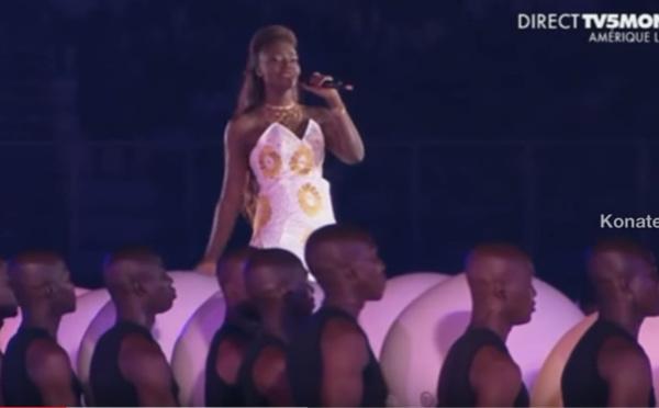 Abidjan-Cérémonie d'ouverture des 8es Jeux de la Francophonie: Revivez la prestation exceptionnelle de la diva, Coumba Gawlo Seck