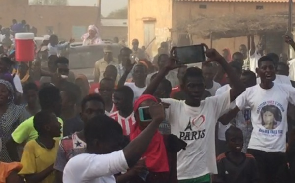Photos : Fouta, l'arrivée de la caravane Osez l'avenir à Madina Ndiatebe