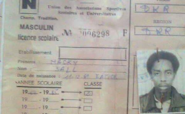 Photo archive : la  licence étudiant UASSU de Macky Sall