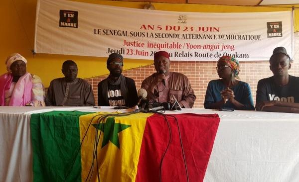 """Législatives du 30 juillet : Y en a marre et plusieurs organisations annoncent """"une plainte citoyenne contre l'Etat du Sénégal"""""""