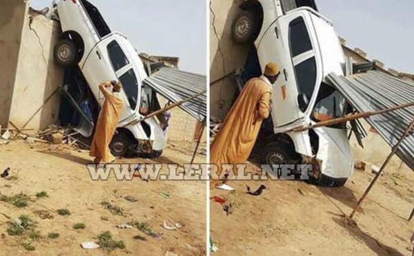 Vidéo: Accident spectaculaire à Ngabou