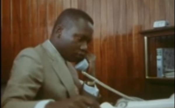 Me Dior Diagne à l'age de 2ans et son Papa Ousmane Diagne