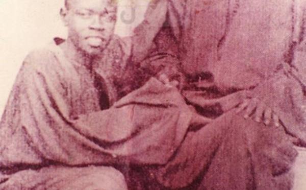 "Photo inédite: Serigne Abdoul Aziz Sy Al Amine en compagnie de Serigne Mansour Sy «Borom Daradji"""