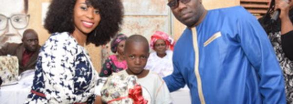 Photos : Adiouza à fond dans le social solidaire