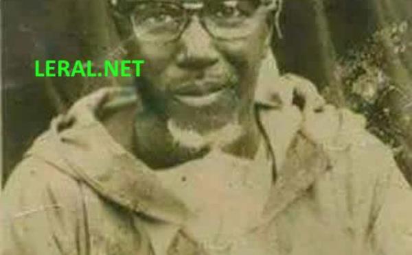 Photos : une photo collector de Serigne Sidy Moktar Mbacké