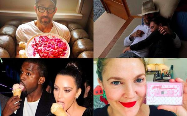 VIDEO- Kanye West et Kim Kardashian,David et Victoria Beckham… la Saint-Valentin des stars