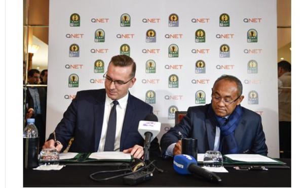 QNET annonce qu'il sponsorise la Ligue des Champions de la CAF Total, la Coupe des Confédérations de la CAF Total et la Supercoupe de la CAF Total