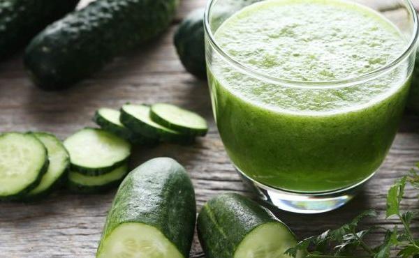 Recette du jus de concombre