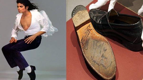 Les mocassins de Michael Jackson mis aux enchères