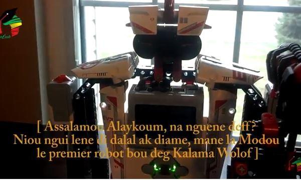 Modou, Le premier robot qui comprend le wolof