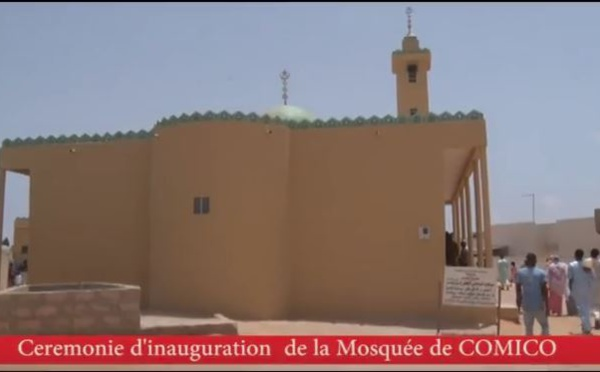 Inauguration de la mosquée à la cité Comico de Bambilor par le ministre Oumar Guèye