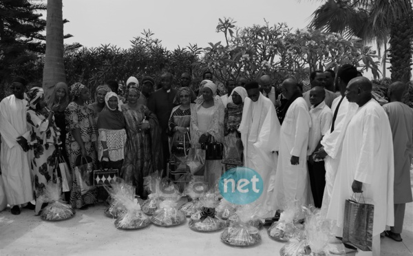 Les images de la cérémonie de remise de chèque de Senelec aux sinistrés de la Cité Trésor de Golf