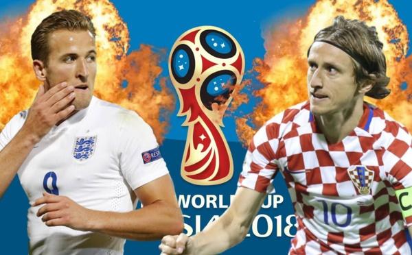 Croatie vs Angleterre à 18h - Qui défiera la France en finale de la Coupe du monde?