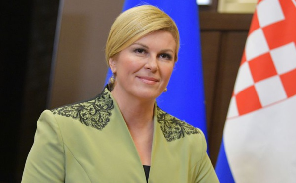 Pourquoi la présidente croate Kolinda Grabar Kitarovic a transgressé le protocole dans les tribunes ?
