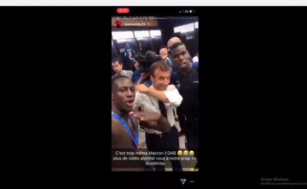 VIDEO - Célébration du Mondial : La danse de Macron fait fureur sur la toile