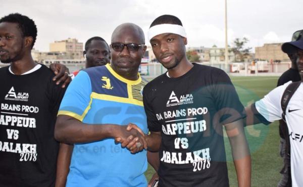 Les images du match de Gala entre Mbalakhmen et Rappeurs