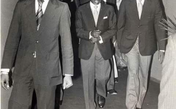 Photos : Bruno Diatta, un homme, quatre présidents