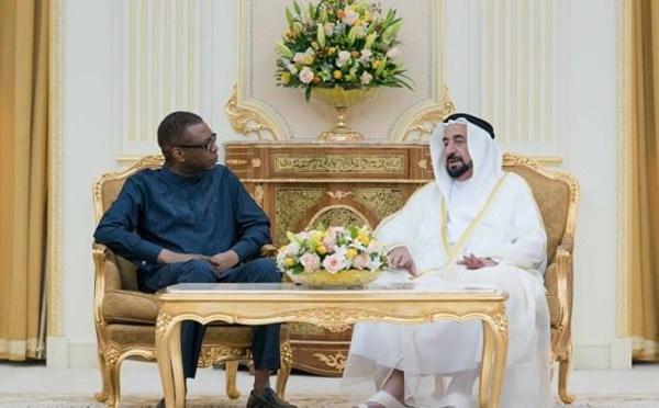 Youssou Ndour reçu son altesse Sheikh Dr Sultan Bin Mohamed Al Qasimi…