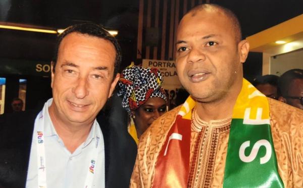 Photos : Eric Philibert Lamantin Beach et le ministre, Mame Mbaye Niang vendent la destination Sénégal au Salon professionnel du tourisme IFTM Top Résa de Paris
