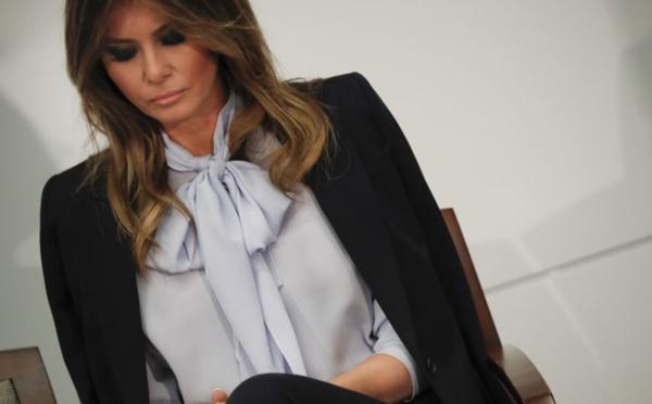 """Melania Trump dit être """"la personne la plus harcelée au monde"""""""