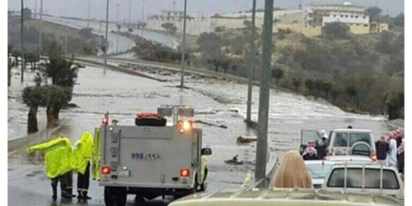 VIDEO - Soubhan Allah ! Inondations dans le désert en Arabie saoudite, c'est du jamais-vu !