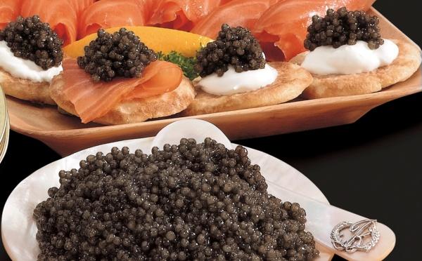Le caviar, c'est juste des oeufs de poisson