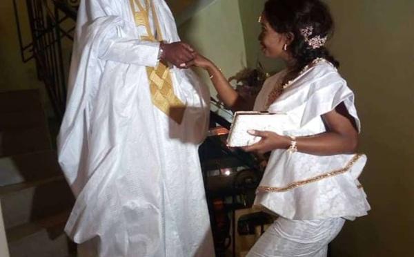 """Photos: Manioukh Badiane, la """"cousine"""" de Kombé s'est mariée"""