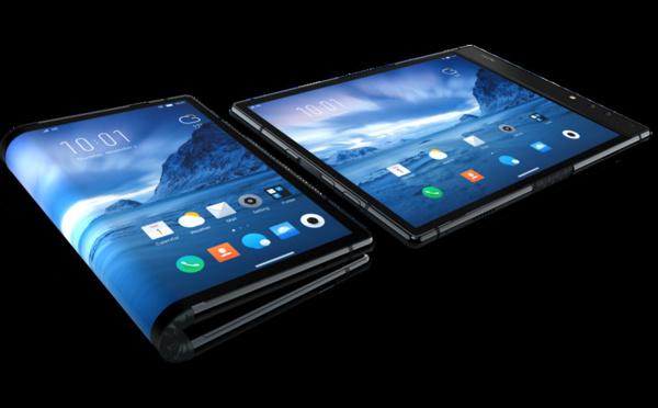 Télés, smartphones: cap sur les écrans pliables et enroulables