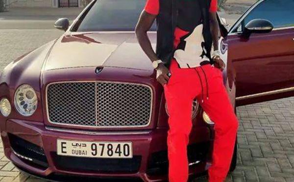 Photos : Regardez le somptueux bolide de Ibou Touré