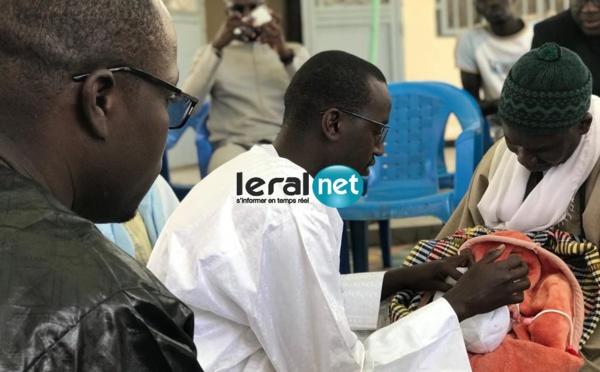 Les images du baptême du fils de Mamadou Mouhamed Ndiaye de la Tfm