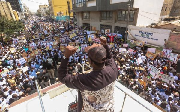 PHOTOS - L'incroyable mobilisation de Cheikh Bâ alias Messi pour la réélection de Macky Sall (Médina)