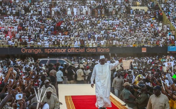 Meeting de clôture du candidat Macky Sall : Le stade Senghor bat les records d'affluence… Tout ce que vous n'avez pas vu en Images