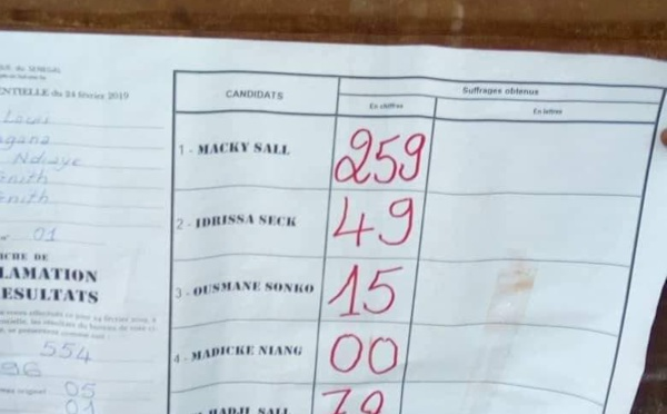 Dagana : Oumar Sarr désobeit à Wade, appelle à voter Idy ou Sonko ... et perd
