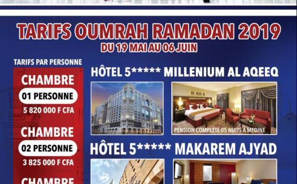 Voici la meilleure offre pour l'Oumra ( SDT DAKAR )