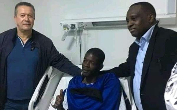 Photo : Khadim Ndiaye opéré avec succès au Maroc