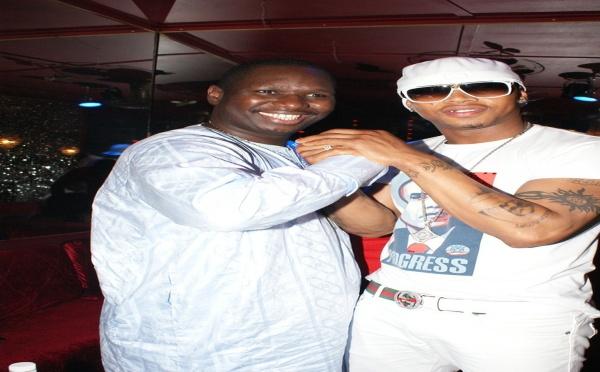 Photo : El Hadji Diouf et Salam Diallo, une grande complicité