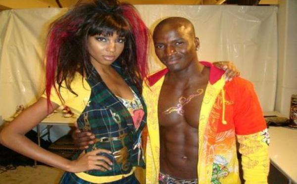 Photo : Le mannequin sénégalais Cherif Adramé Ndiaye en bonne compagnie