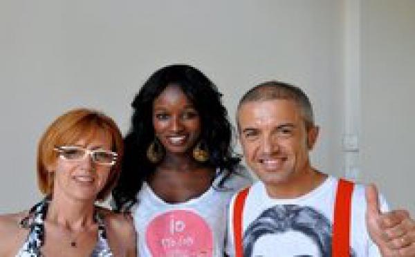 Photo : Bruna Ndiaye et ses amis italiens