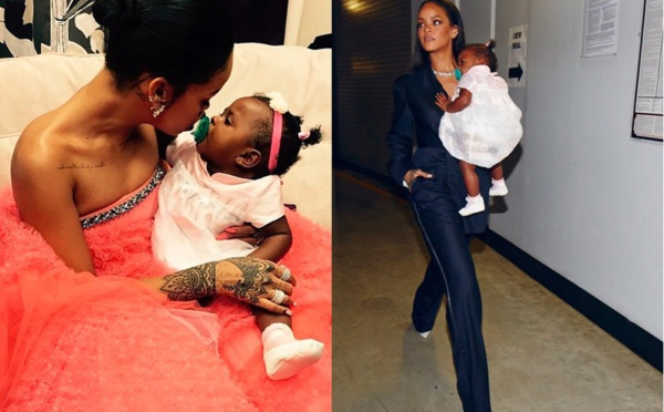 PHOTOS - Rihanna avec son bébé et son bien-aimé Hassan Jameel !