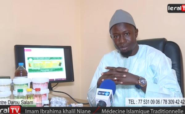 "VIDEO - Imam Ibrahima Khalil Niane, tradipatricien: ""Faiblesse sexuelle, éjaculation précoce, thioro rap, ""kou fi gnowe sa..."""