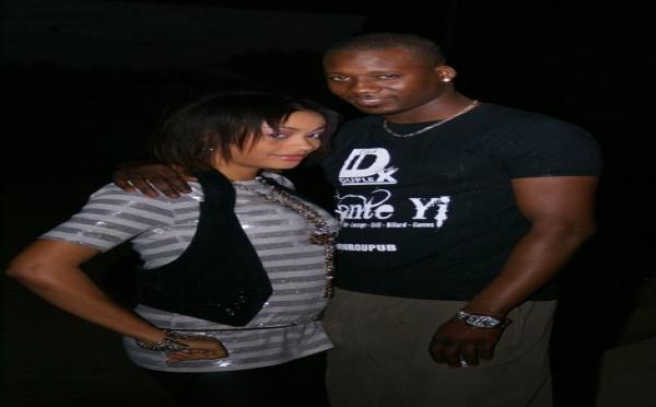 Photo : Adja Ndoye avec Lamine Bante-Yi