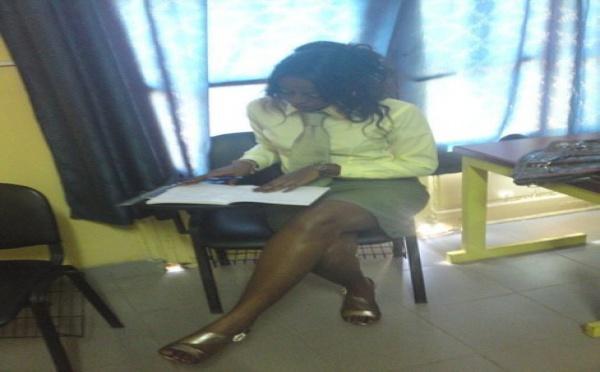 Photo : Penda Ly, la nouvelle miss Dakar en mode étudiante de commerce