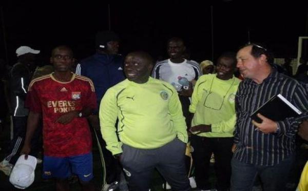 Photo : Idrissa Seck en mode footballeur